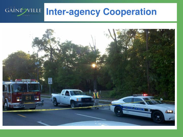 Inter-agency Cooperation