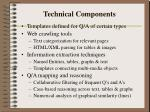 technical components