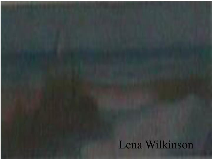 Lena Wilkinson