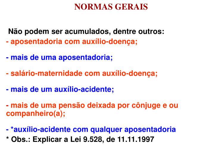 NORMAS GERAIS