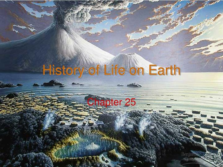 history of life on earth n.