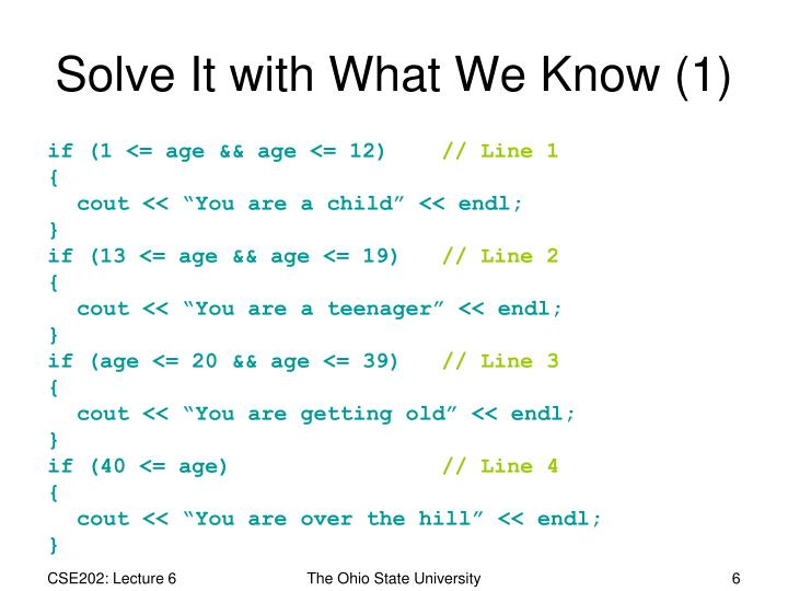 Solve It with What We Know (1)