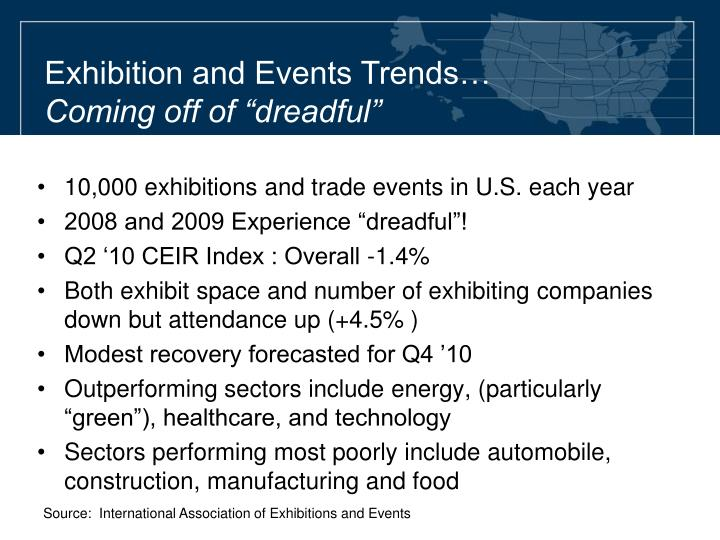 Exhibition and Events Trends…