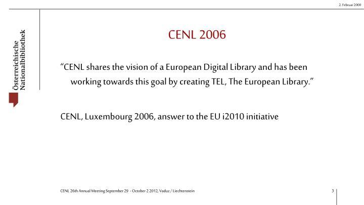 Cenl 2006