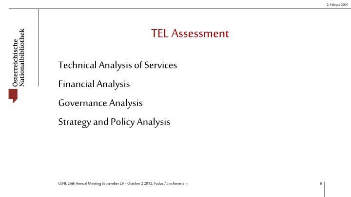 TEL Assessment