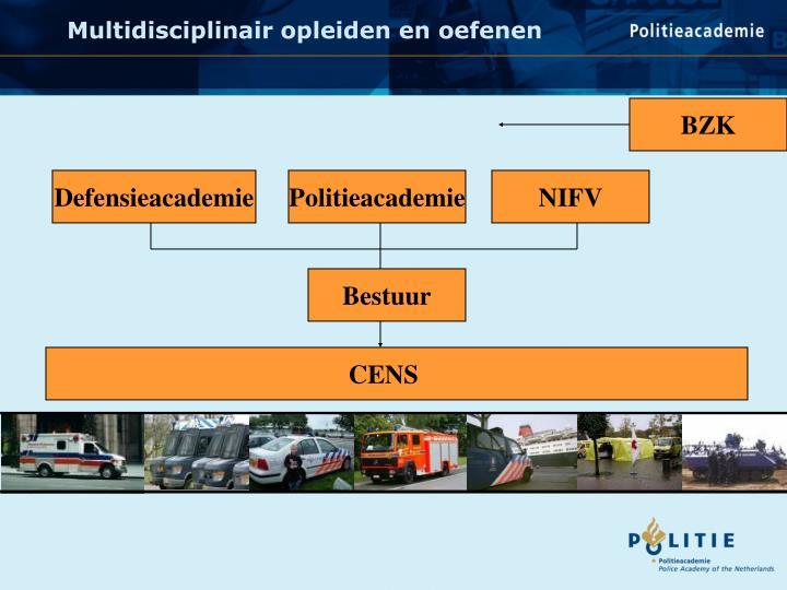 Multidisciplinair opleiden en oefenen