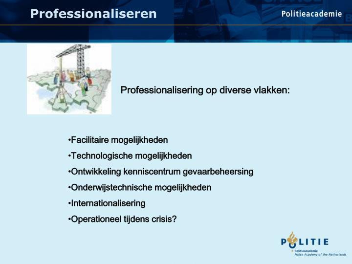 Professionaliseren
