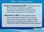 bps implementation1