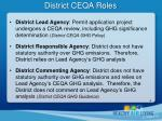 district ceqa roles