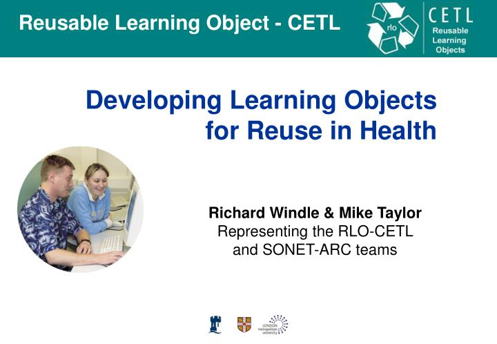 Developing Learning Objects