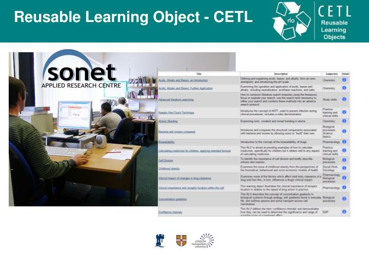 Developing learning objects for reuse in health