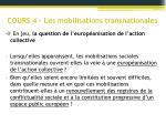 cours 4 les mobilisations transnationales1