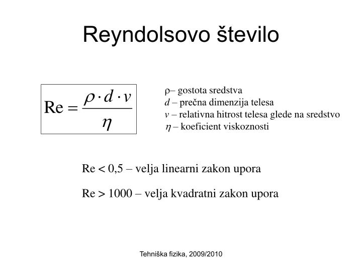 Reyndolsovo število