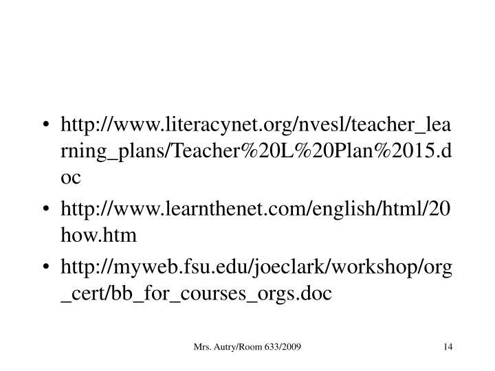 http://www.literacynet.org/nvesl/teacher_learning_plans/Teacher%20L%20Plan%2015.doc