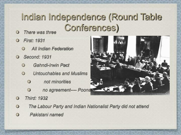 the third round table conference 1 often round table a conference or discussion involving several participants 2 the occasion was the third international roundtable on constructing peace.