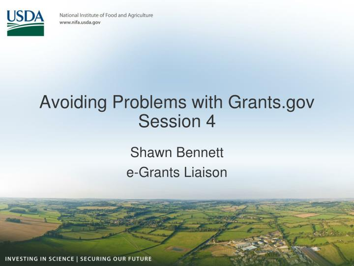 avoiding problems with grants gov session 4 n.