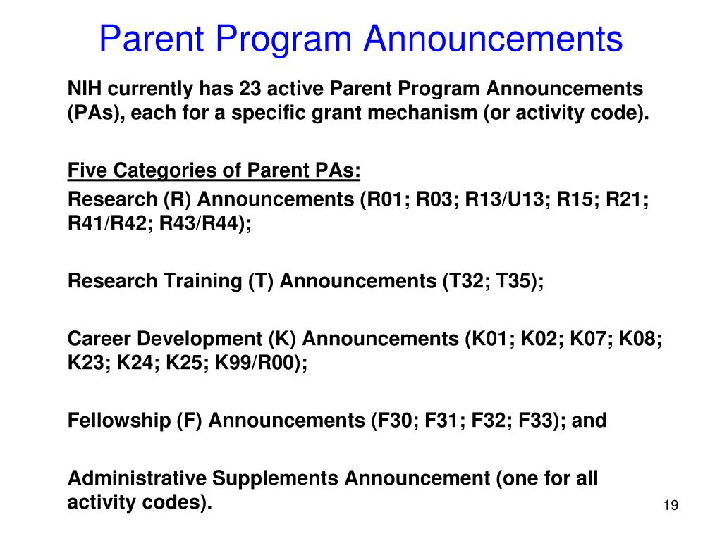PPT - What is a Funding Opportunity Announcement (FOA