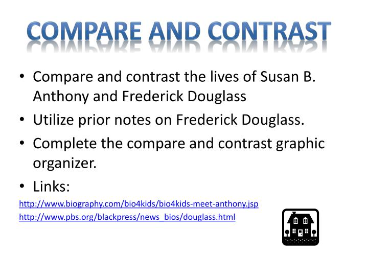 compare and contrast the lives of