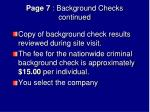 page 7 background checks continued