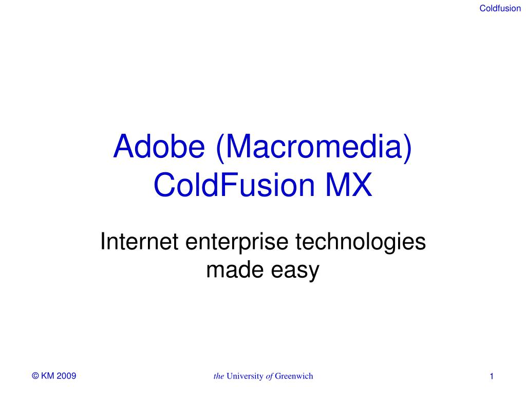 inside coldfusion mx