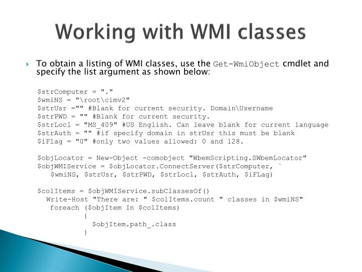 PPT - WINDOWS POWERSHELL PowerPoint Presentation - ID:3981623