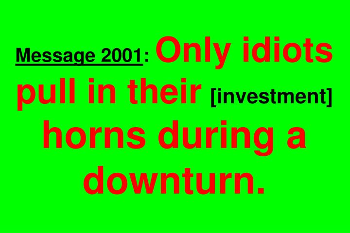 Message 2001