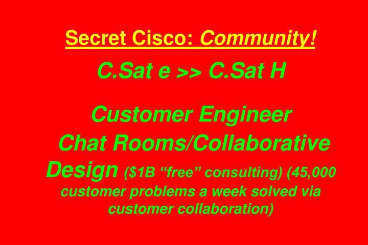 Secret Cisco: