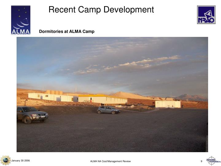 Recent Camp Development