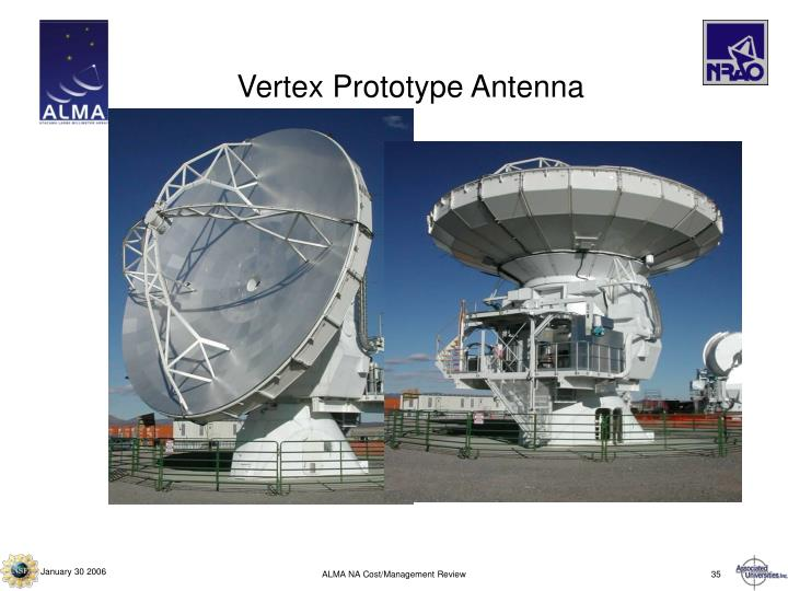 Vertex Prototype Antenna