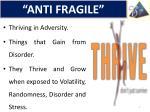 anti fragile