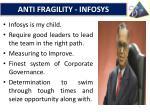 anti fragility infosys