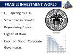 fragile investment world