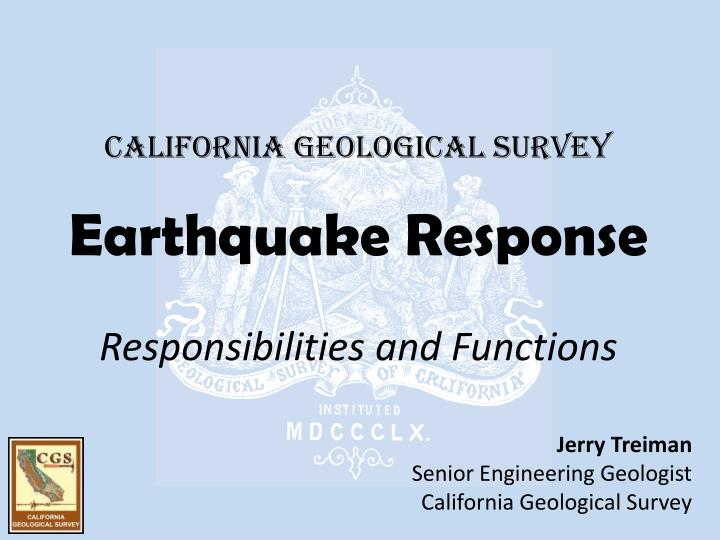 california geological survey n.