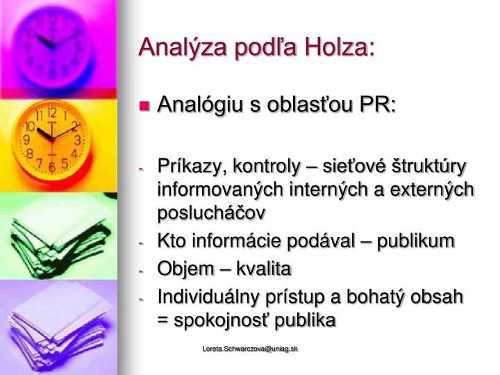 Analýza podľa