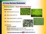 greening system green wall green roof1