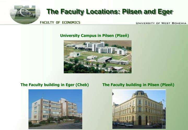 The Faculty Locations