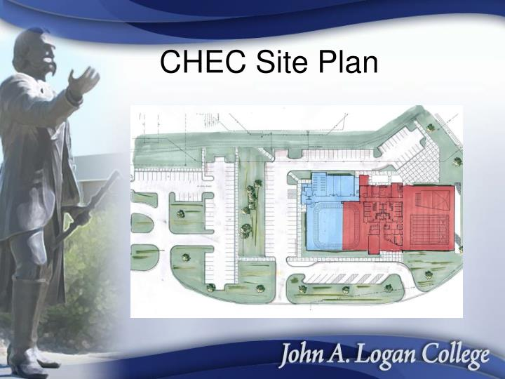Chec site plan