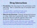 drug interactions2
