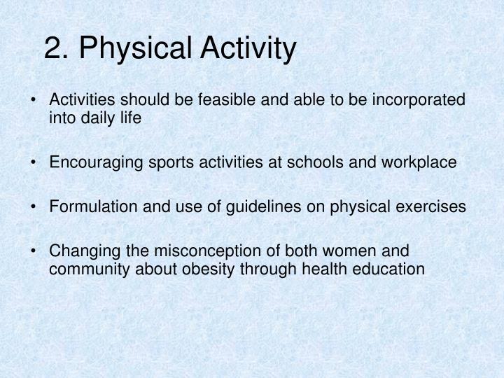 2. Physical Activity