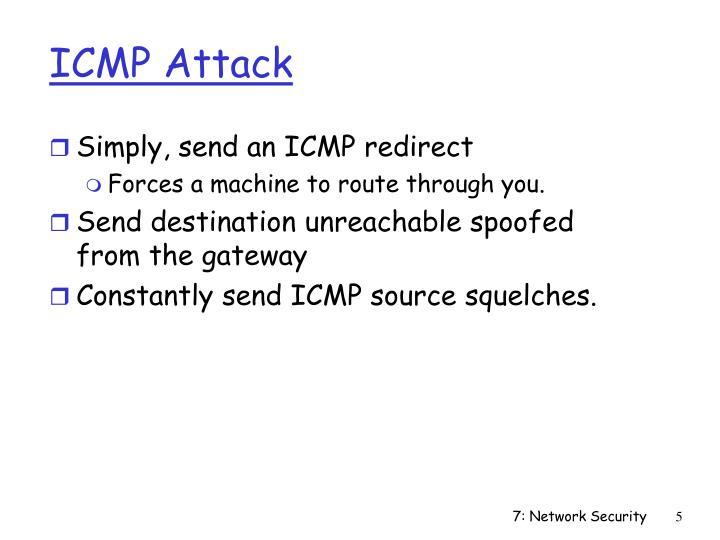 ICMP Attack