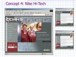 concept 4 nike hi tech