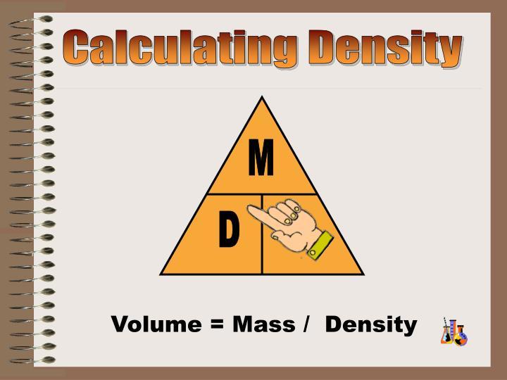 Calculating Density