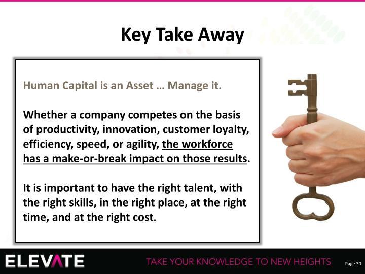 Key Take Away