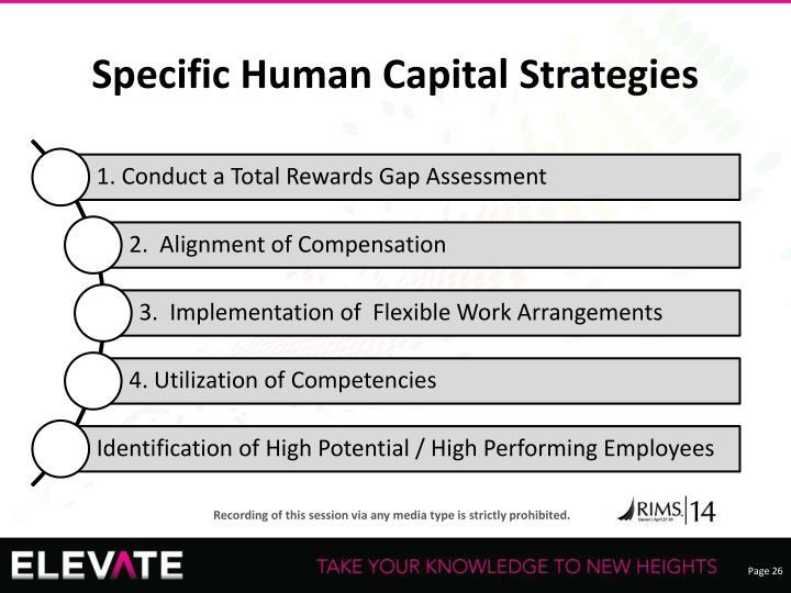 Specific Human Capital Strategies
