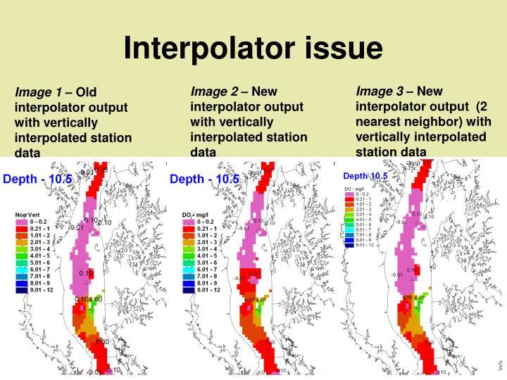 Interpolator issue