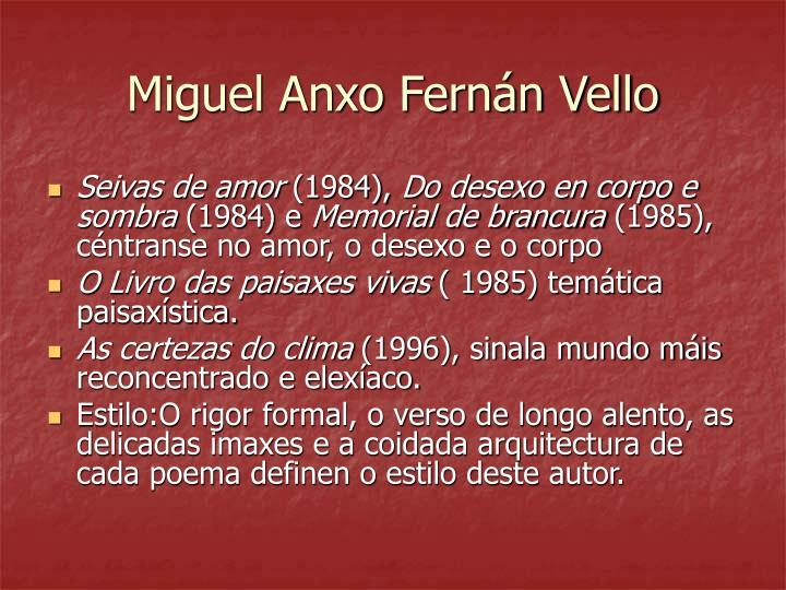 Miguel Anxo Fernán Vello