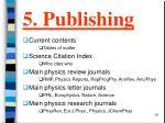 5 publishing