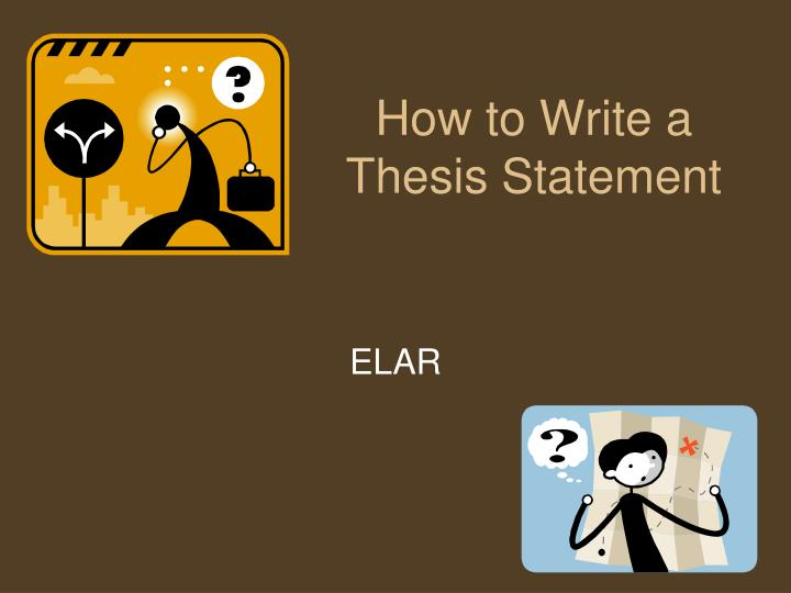 social science thesis statements
