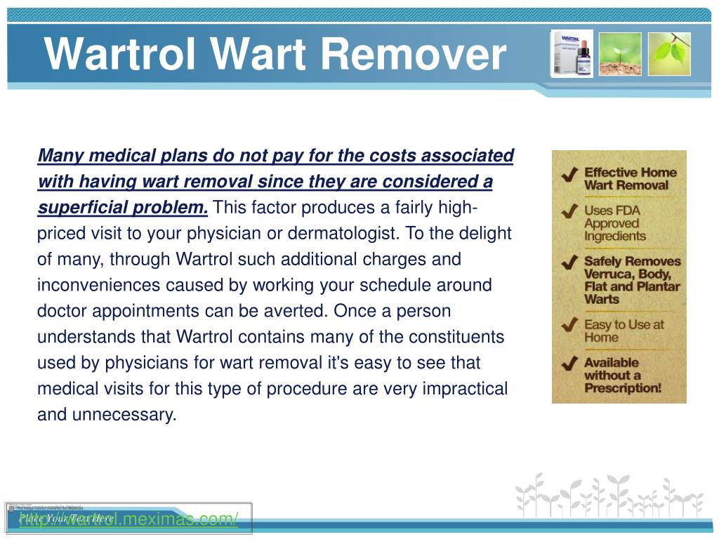 Ppt Buy Wartro And Remove Your Warts At Home Safely Powerpoint