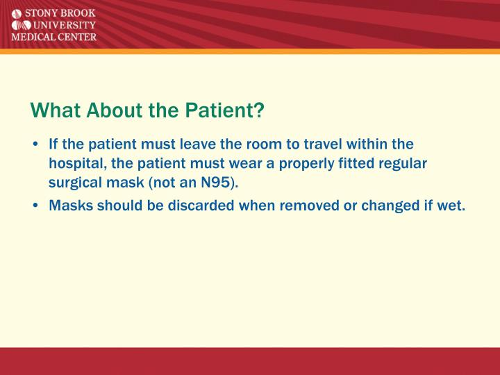 What About the Patient?